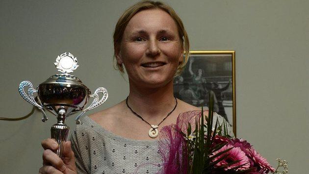 Jachtařka Veronika Kozelská-Fenclová.