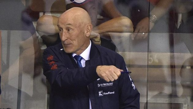 Trenér Slovenska Craig Ramsay.