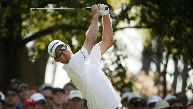 Britský golfista Justin Rose na Masters v Augustě.