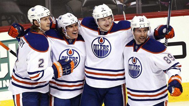 Edmonton Oilers - archivní snímek.