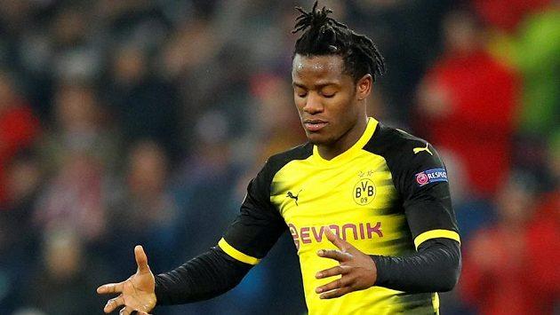 Útočník Borussie Dortmund Michy Batshuayi.