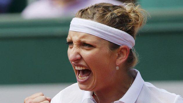 Švýcarka Timea Bacsinszká letos na French Open září.