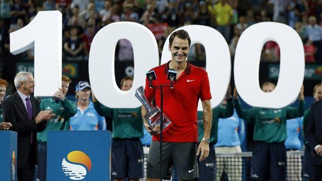 100 výher má na kontě švýcarský tenista