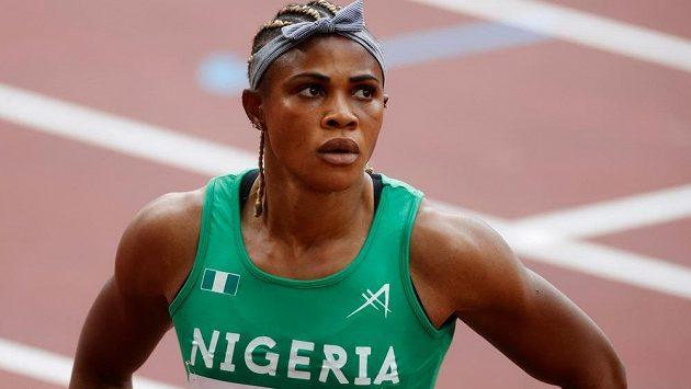 Nigerijská sprinterka Blessing Okagbareová porušila pravidla o dopingu.