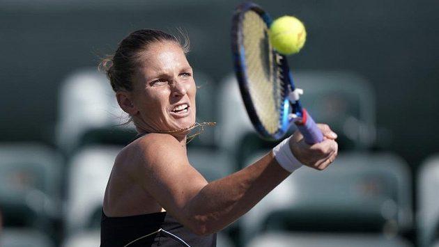 Tenistka Karolína Plíšková skončila v Indian Wells ve 3. kole.