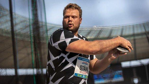 Švédský diskař Daniel Stahl.