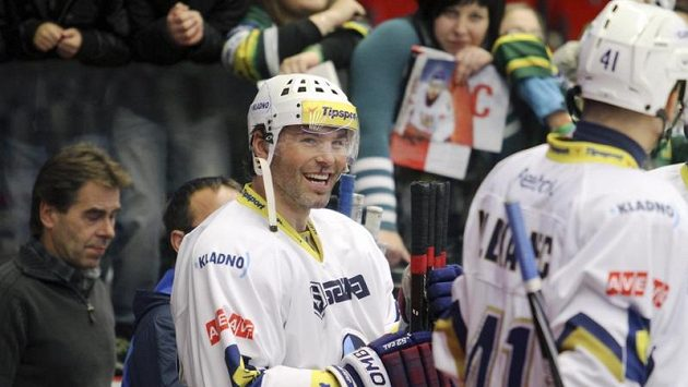 Hvězda Kladna Jaromír Jágr dnes proti Brnu nastoupí.