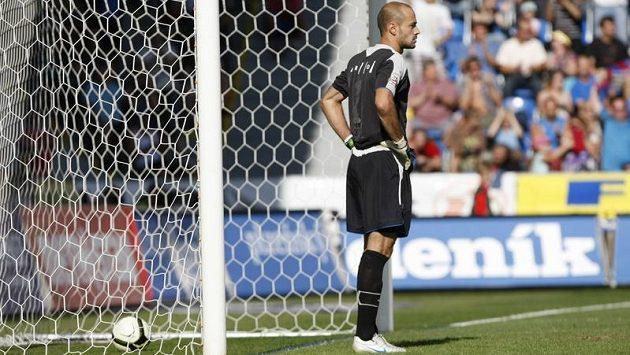 Brněnský brankář Martin Doležal inkasoval v posledních dvou ligových zápasech devět gólů.