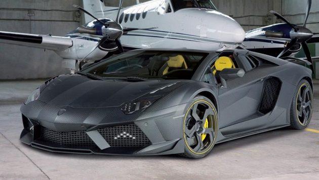 Carbonado Lamborghini Aventador... I takovou podobu by mohla mít superrychlá bestie, která ponese Mourinhovo jméno.