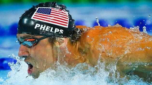 Americká plavecká hvězda Michael Phelps