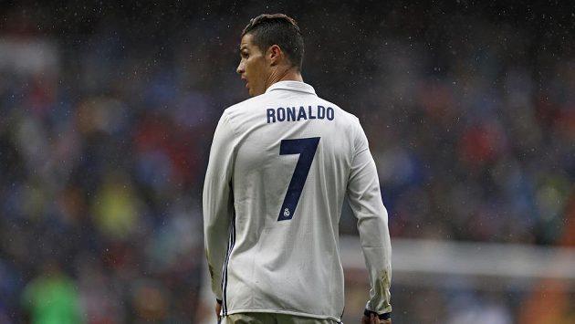 Cristiano Ronaldo z Realu na snímku z dubna.