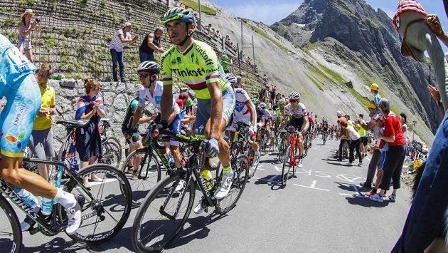 Roman Kreuziger na trati Tour de France.