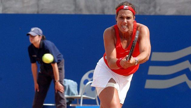 Tenistka Jennifer Capriatiová na snímku z roku 2004.