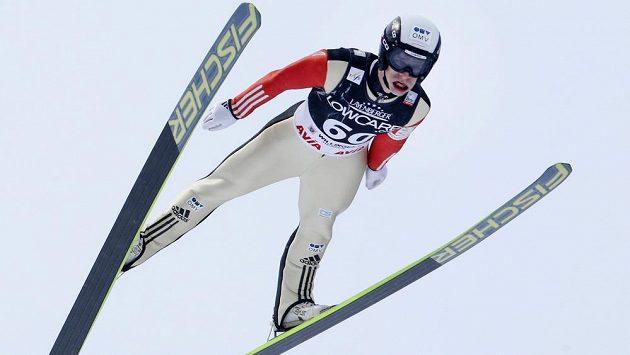 Skokan na lyžích Roman Koudelka na ilustračním snímku