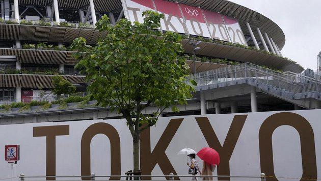 Olympijský stadion v Tokiu. Ilustrační foto