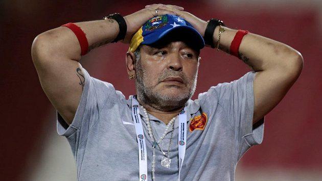 Diego Maradona bude šéfovat běloruskému klubu Dinamo Brest