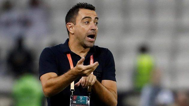 Španělský trenér fotbalistů Al Sádu Xavi