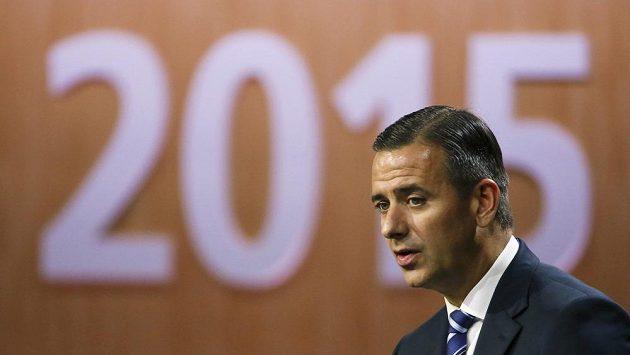 Finanční ředitel FIFA Markus Kattner.