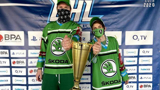 Prvním mistrem Esport hokejové ligy se stala BK Mladá Boleslav.