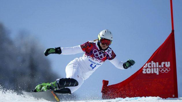 Česká snowboardistka Ester Ledecká vypadla v paralelním obřím slalomu v Soči ve čtvrtfinále.