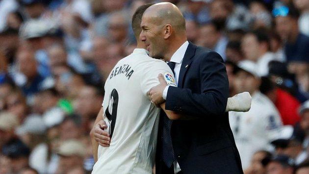 Zinédine Zidane prožil vítězný návrat na lavičku Realu Madrid.
