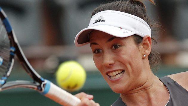 Obhájkyně titulu Španělka Garbině Muguruzaová zvládla bez problémů vstup do letošního French Open.