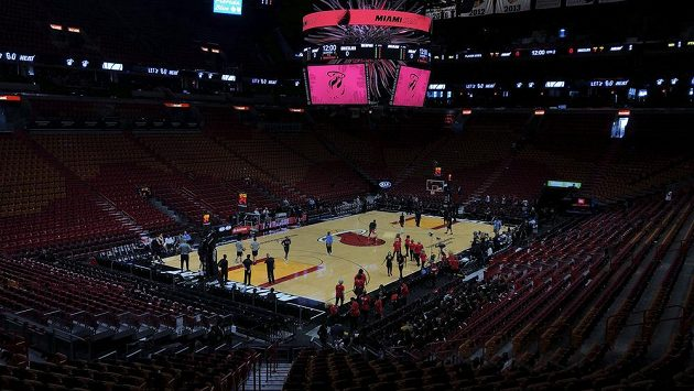 Ilustrační snímek. Miami Heat - Memphis Grizzlies.