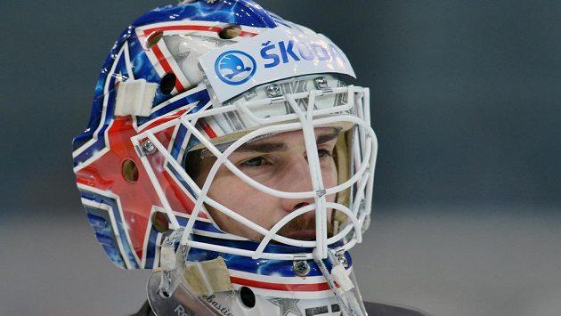Brankář Alexander Salák