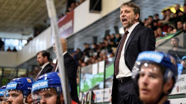 Trenér hokejové reprezentace Josef Jandač