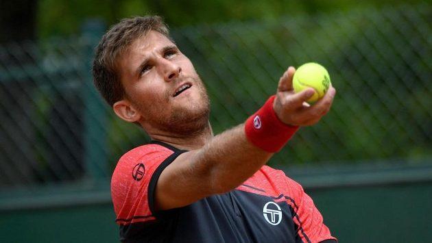 Slovenský tenista Martin Kližan v prvním kole French Open.