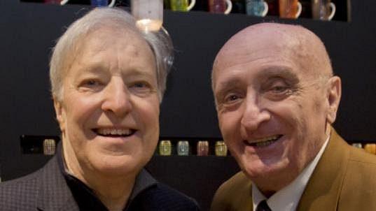 Pavel Korda (vpravo) s Janem Kodešem.