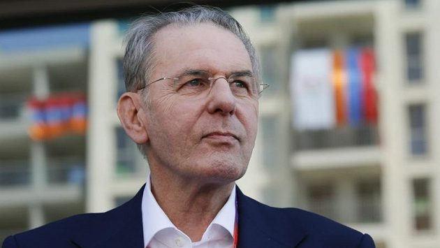 Šéf MOV Jacques Rogge