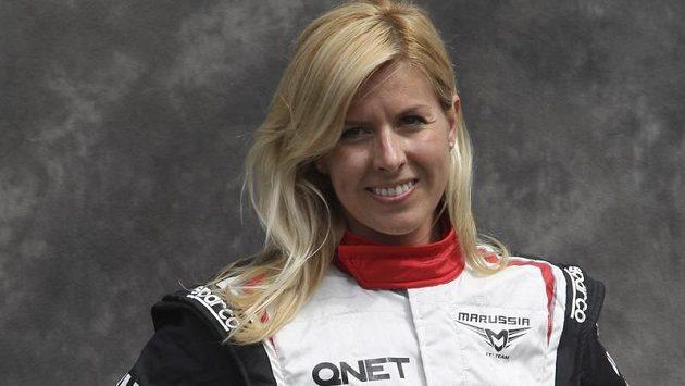 Testovací jezdkyně ve formuli 1 María de Villotaová, členka ruské stáje Marussia