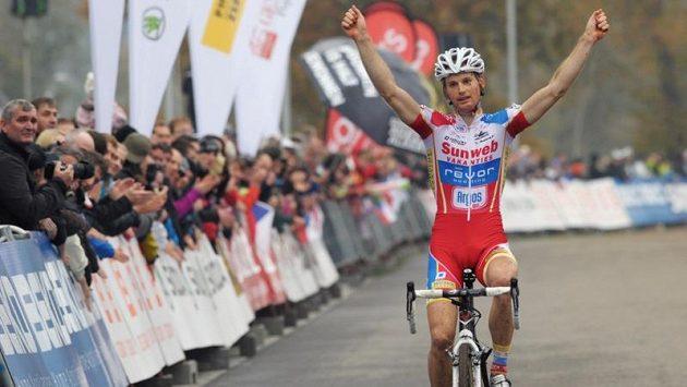 Belgičan Kevin Pauwels vyhrál závod Světového poháru v cyklokrosu v Táboře.