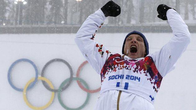 Velkou radost měl z bronzové medaile ze závodu s masovým startem Ondřej Moravec.