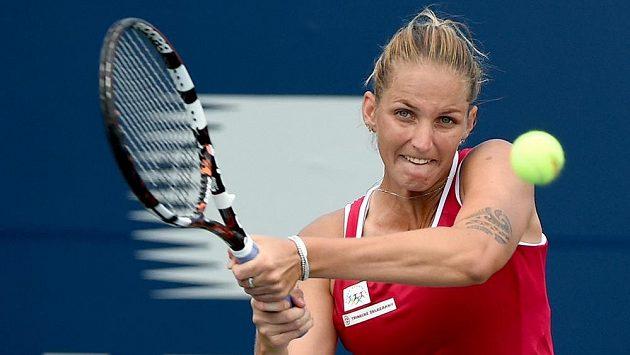 Karolína Plíšková vstoupí v pondělí do US Open.