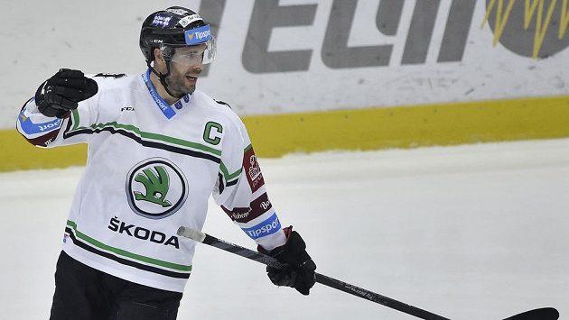 Michal Vondrka z Mladé Boleslavi se raduje z gólu (ilustrační foto)