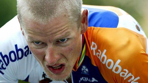 Dánský cyklista Michael Rasmussen.