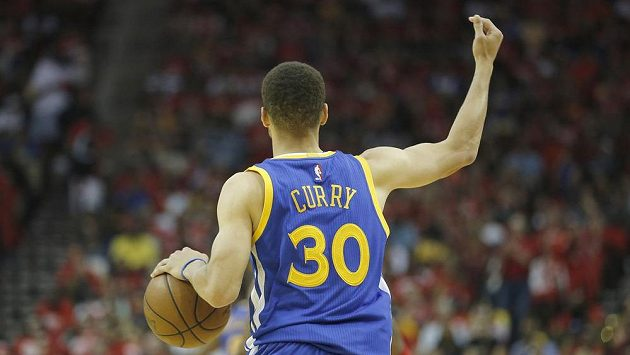 Basketbalista Golden State Stephen Curry.