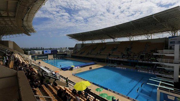 Maria Lank Aquatic center, kde proběhnou plavecké soutěže při srpnových OH.