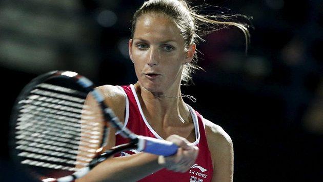 Česká tenistka Karolína Plíšková, archivní snímek