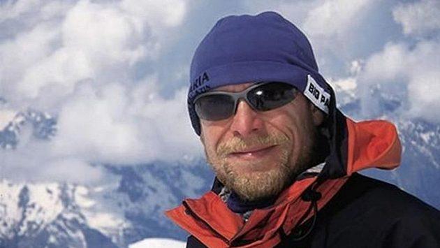 Slvoenský horolezec horolezec Peter Hámor.