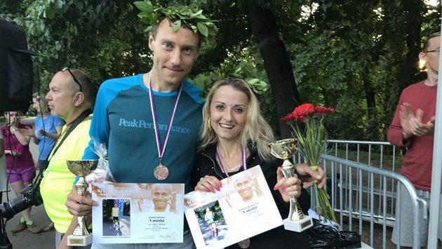 Kateřina s Ondřejem obsadili první místa i na 12hodinovce v pražské Stromovce.