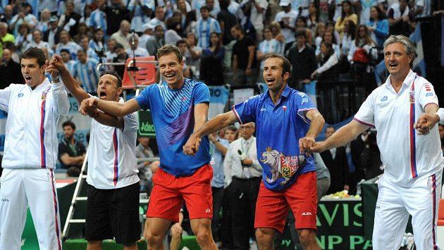 Francii přivítá český daviscupový tým v Třinci.