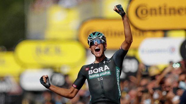 Němec Nils Politt vyhrál 12. etapu Tour de France
