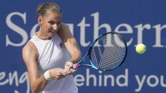 Karolína Plíšková zná svou soupeřku pro první kolo US Open