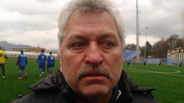 Petr Němec, trenér fotbalistů Ústí nad Labem.