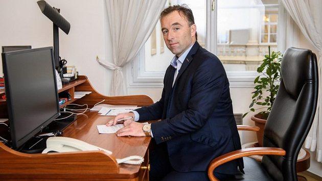 Milan Hnilička ještě v době, kdy šéfoval Národní sportovní agentuře.