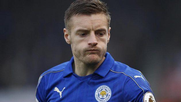 Útočník Leicesteru Jamie Vardy.