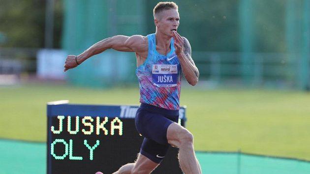 Dálkař Radek Juška při Memoriálu Ludvíka Daňka v Turnově. Ilustrační foto.